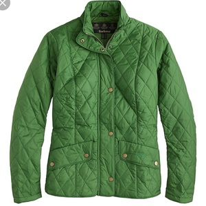 Barbour Cavalry Quilted Green Jacket
